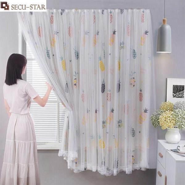 SECU-STAR 0.9M X 1M Dán Rèm Chắn Sáng Phòng Cách Nhiệt Làm Tối Rèm Cửa Sổ Rèm Cửa