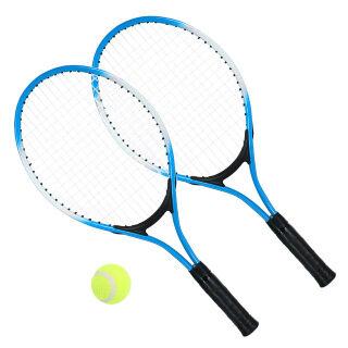 2 Cái Vợt Tennis Cho Trẻ Em Vợt Tennis Với 1 Quả Bóng Tennis Và Túi Bọc Bóng Vợt thumbnail