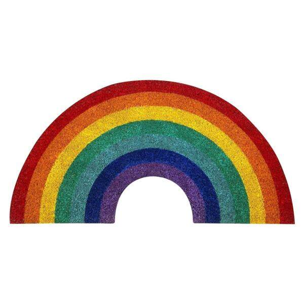 Rainbow Doormat Fruit Series Floor Mat Home Carpet Photography Props for Bedroom Bathroom