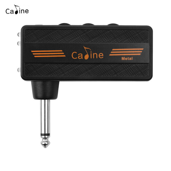 Caline CA-101 Bộ Khuếch Đại Tai Nghe Ghi Ta Mini Cắm Bộ Khuếch Đại Có Thể Sạc Lại Với Sự Biến Dạng Hiệu Ứng Cho Điện Guitar