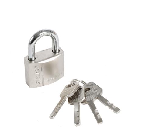 Heavy Duty Chrome Door Chain With Lock