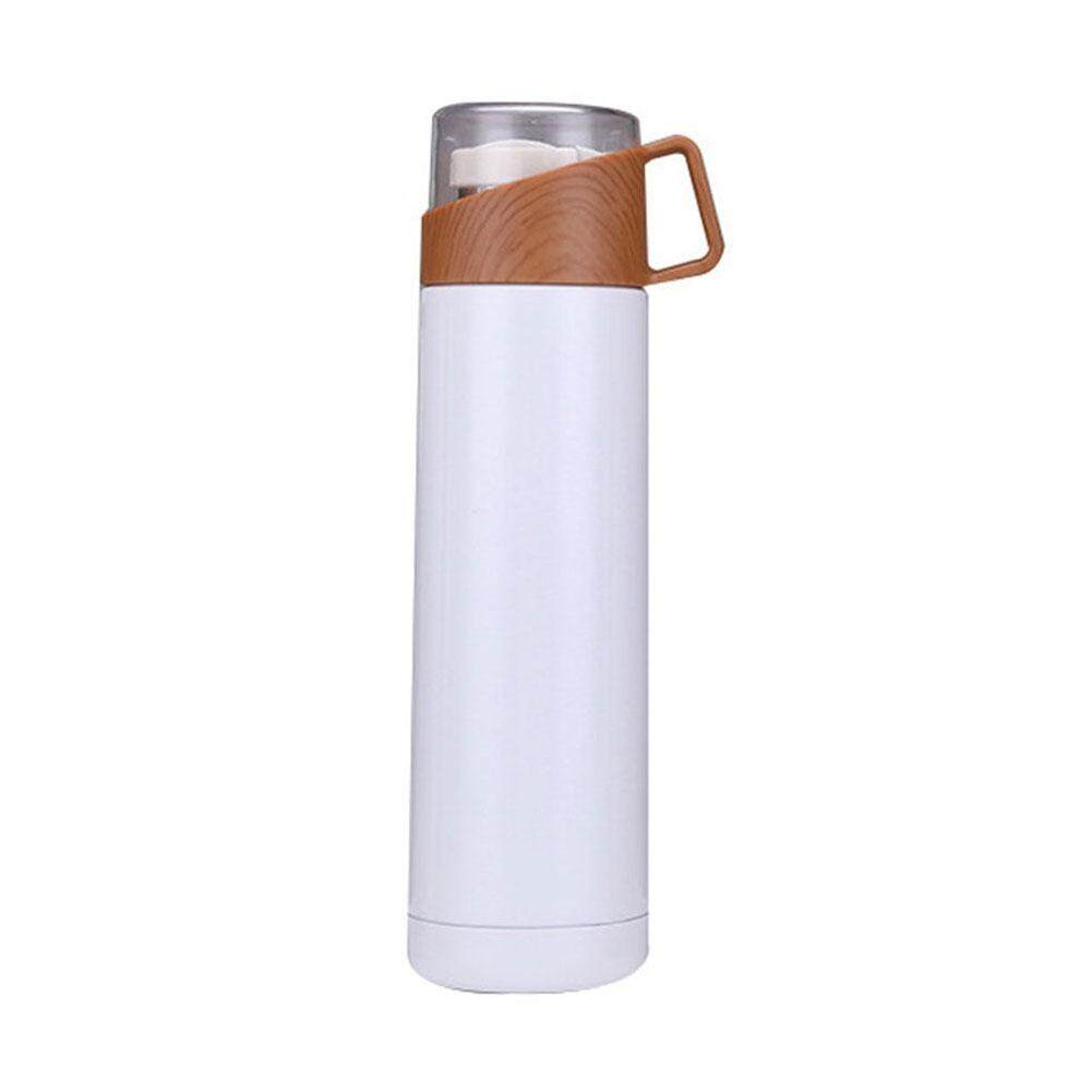 Portable Travel Stainless Steel Vacuum Flask Thermal Cup Coffee Water Bottle Outdoor-in Vacuum Flasks