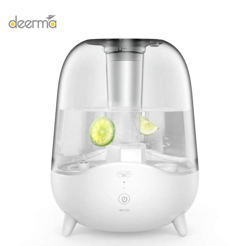 DEERMA Ultrasonic Cool Mist Humidifier, 5L Large Capacity, Auto Shut Off, Ajustable Mist Volume, Whi Singapore