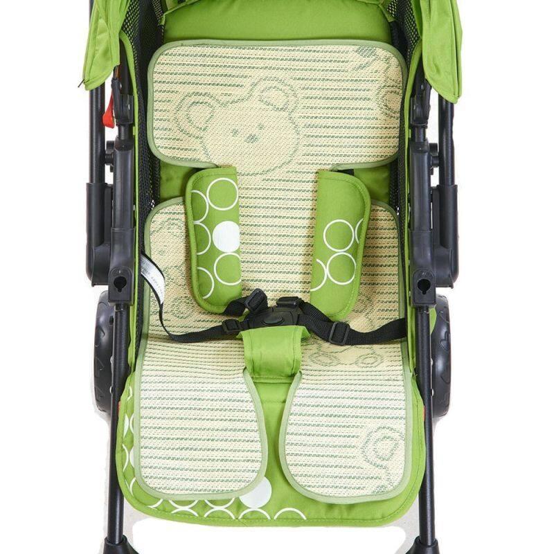 1* Practical Fashion Cute Cool Baby Seat Pad Stroller Mat Pram -Bamboo Cushion Singapore