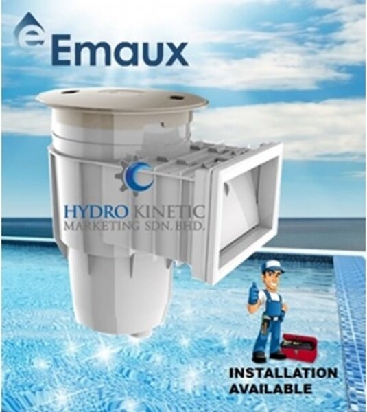 EMAUX EM0030-RC Standard Wall Skimmer (Concrete Pool) -  for SWIMMING POOL