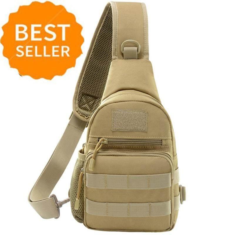 Camping & Hiking Popular Brand Camping Hiking Bag Mens Cross Body Messenger Bag Shoulder Backpack Travel Chest Bag Pack Outdoor Sports Bag Shoulder Military Be Novel In Design