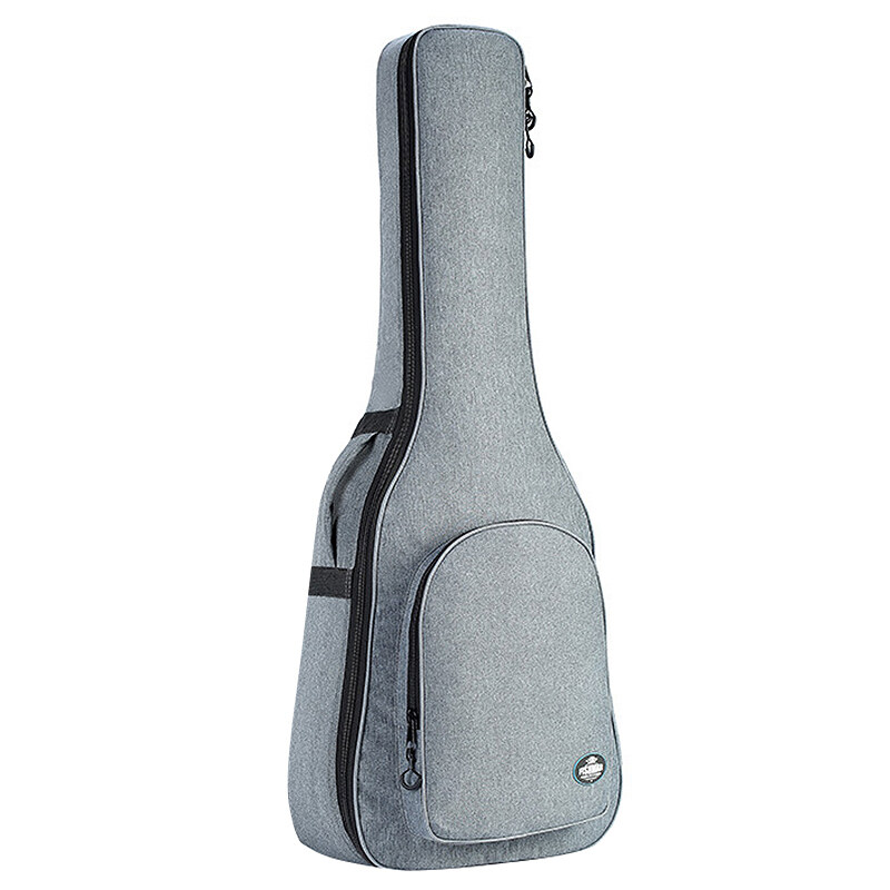 FISHMAN GUITARS 41 Inch Acoustic Classical Guitar Bag Case Backpack 25mm Thicken with Double Shoulder Straps,Gray