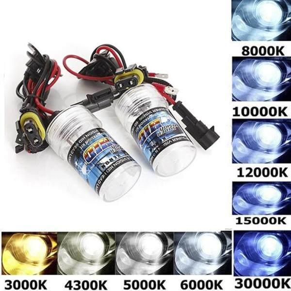 ❤️WT 1X 35w Xenon Hid Light H1 H3 H4 H7 H11 9005 HB3 9006 AC 12v Single Beam Bulb