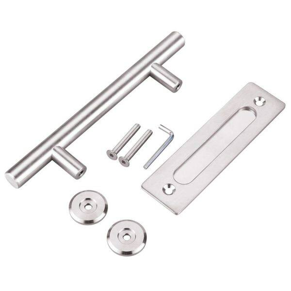 304 Stainless Steel Sliding Barn Door Pull Handle Wood Door Handle Door Handles For Interior Doors Handle