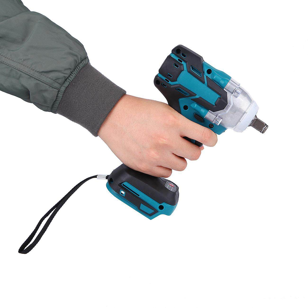 【Drill Bit Hand Tools】Torque Impact Wrench Brushless Cordless Replacement For Makita Battery DTW285Z