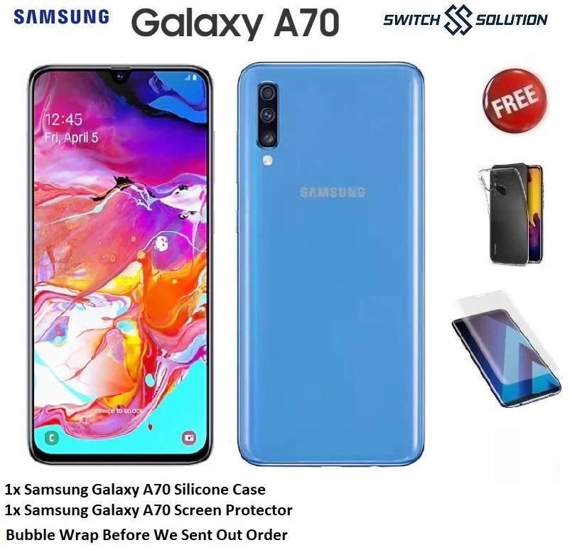 Samsung Galaxy A70 (8GB+128GB) Original Samsung Warranty Malaysia With  Freebies From Switch Solution