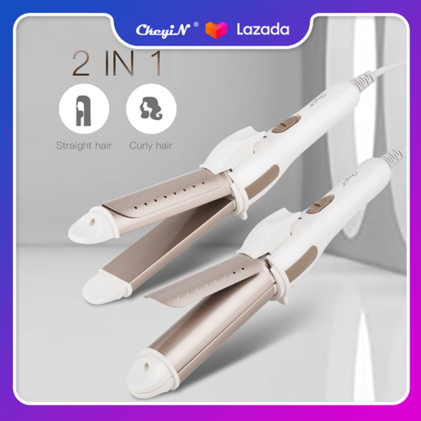 Buy Ckeyin 2 In 1 Hair Curler and Hair Straightener in Constant Temperature PTC Hair Curler Quick Heat Curling Iron Wand with 16 Vent Holes Appliable for Both Wet and Dry Hair Singapore