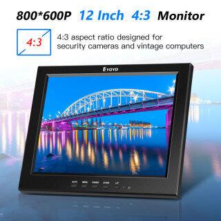 Eyoyo Màn Hình HD 12 Inch Với BNC VGA AV HD Đầu Vào 800X600 Màn Hình Màu HD Mini LCD TFT 4 3 Di Động Với Loa Tích Hợp thumbnail