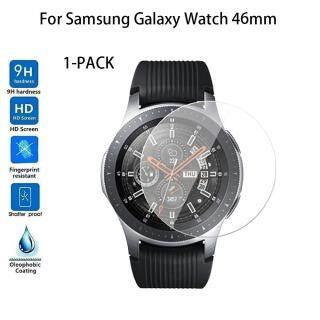TOMATOLL 1 Gói Kính Cường Lực Bảo Vệ Màn Hình Cho Samsung Galaxy Watch 46MM Vòng Đeo Tay Đồng Hồ Thông Minh Theo Dõi Hoạt Động Thể Thao Cho IOS Và Android thumbnail