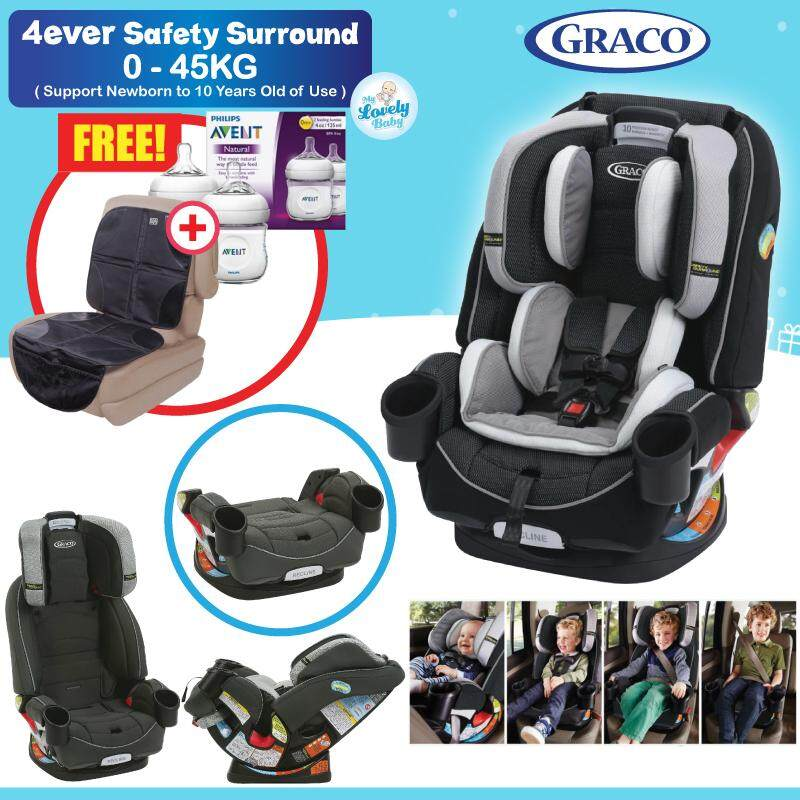 Graco 4EverTM 4 In 1 Car Seat Featuring Safety SurroundTM Side Impact