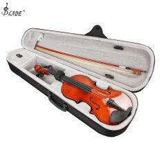 SLADE 4/4 Đàn Violin Acoustic Tự Nhiên Kích Thước Đầy Đủ Có Vỏ + NƠ + Nhựa Thông Dành Cho Người Mới Chơi Violin