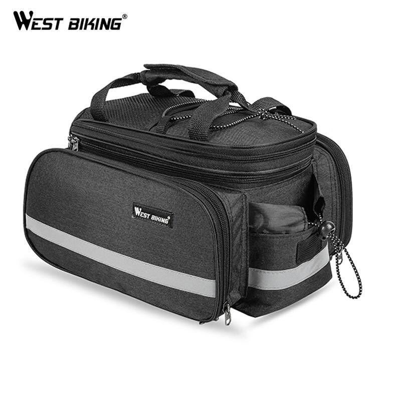 3 in 1 Waterproof Outdoor Bike Bicycle Cycling Pannier Bag Rear Rack Seat Bags