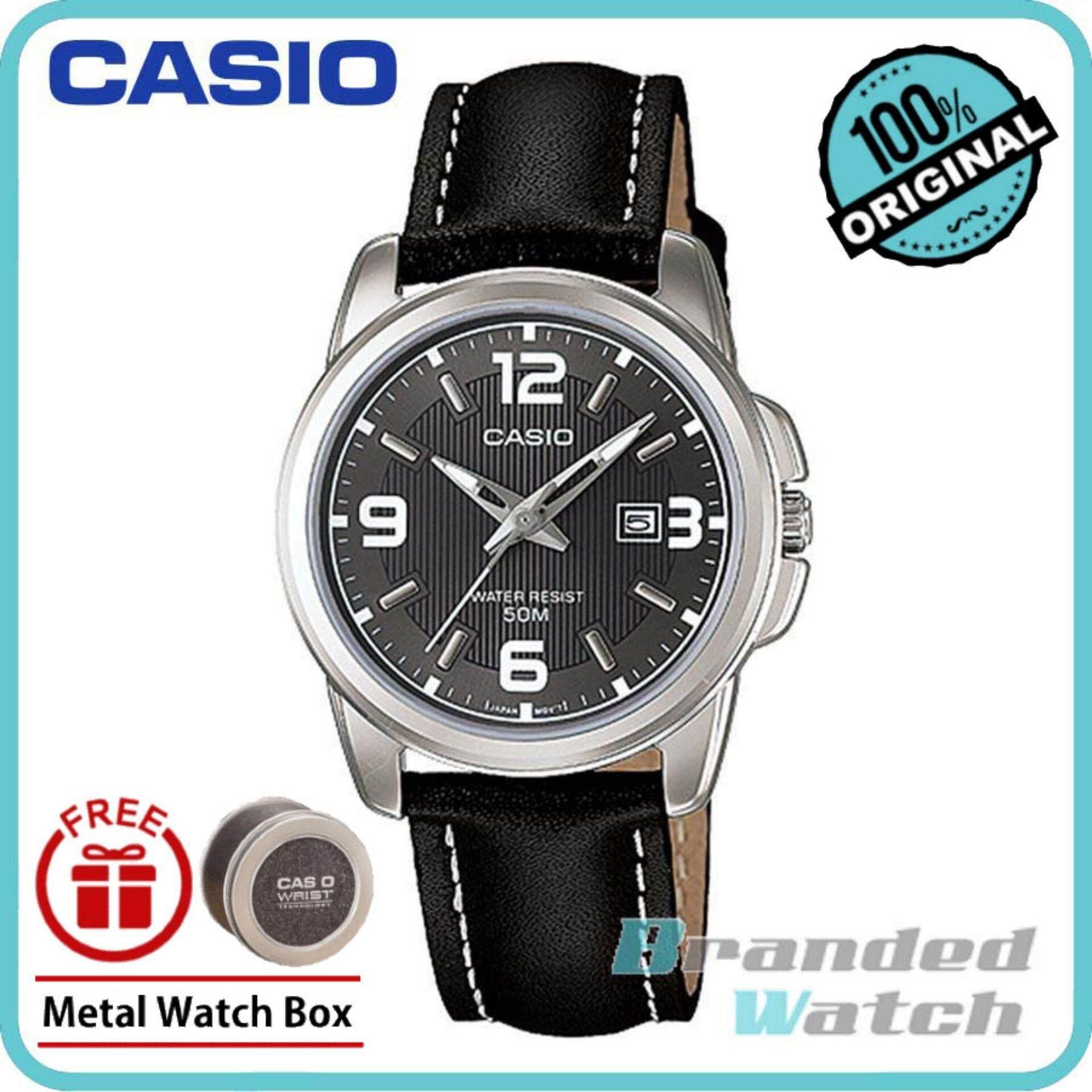 Casio LTP-1314L-8AVDF Women's Analog Date Display Steel Watch LTP-1314L-