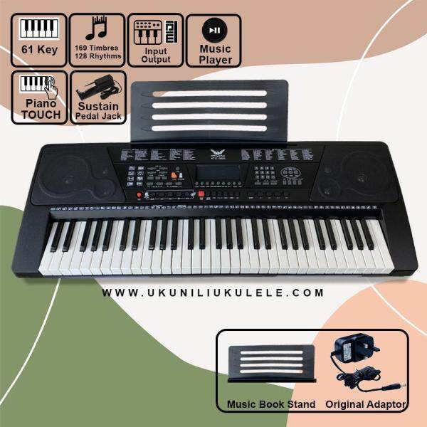 ANGELET 61 KEY DIGITAL PIANO TOUCH ELECTRONIC KEYBOARD XTS-966 Malaysia