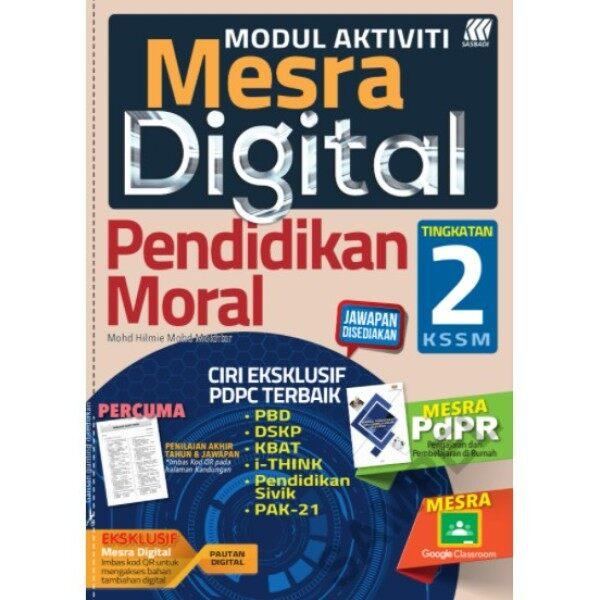 [SASBADI] Buku Latihan: Modul Aktiviti Mesra Digital Pendidikan Moral Tingkatan 2 KSSM (2021) Malaysia