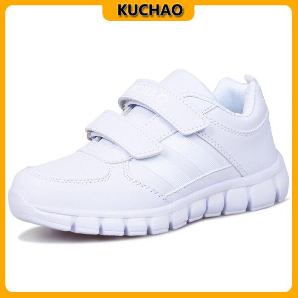 Giá bán KUCHAO Kid Giày Thể Thao Màu Trắng Giày Thể Thao Nam Nữ
