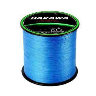 BAKAWA Dây Câu Bện 4 Sợi PE 300M 100%, Multifilament Dòng Fishing, Siêu Mạnh Mẽ Cho Dây Câu Cá Chép thumbnail