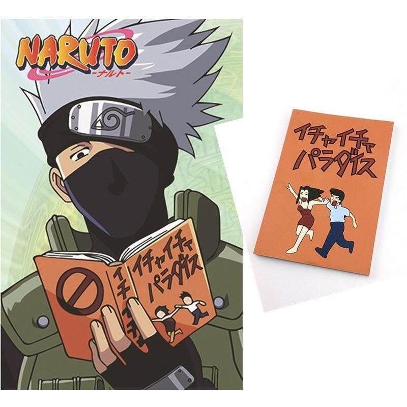 Mua Anime Naruto Kakashi Hatake Jiraiya Cosplay Sách Notebook Icha Icha Paradaisu