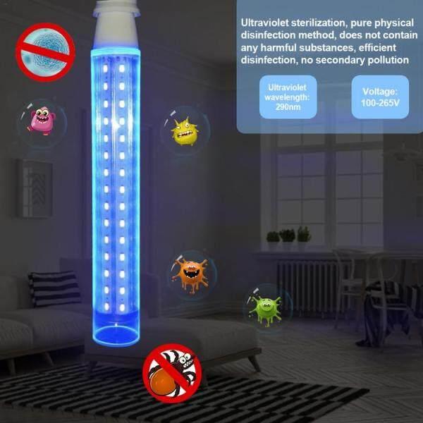 [Hàng Có Sẵn] 1 Chiếc Đèn UV Đèn Diệt Khuẩn UV 16W Khử Trùng Đèn Đèn LED Ngô UVC Khử Trùng Đèn UV Màu Tím Khử Trùng Cho Dụng Cụ Vệ Sinh Trường Học Tại Nhà Văn Phòng
