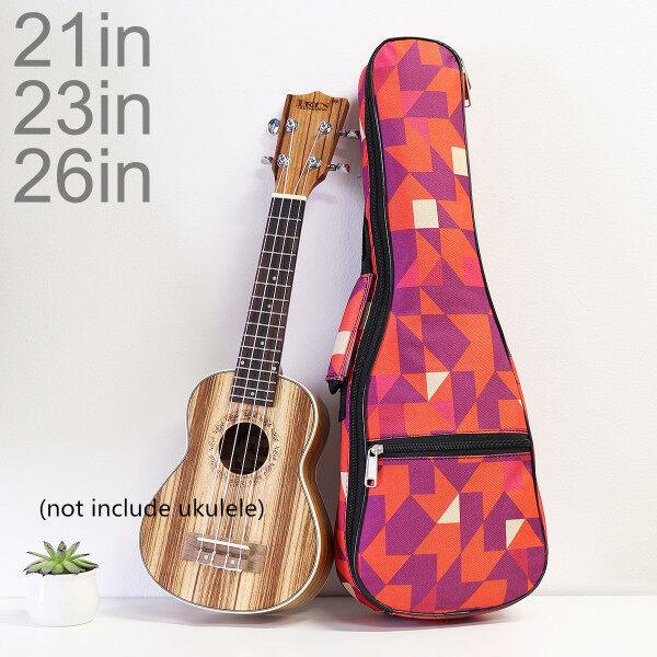 21 / 23 / 26 Inch Ukulele Bag Wooden Guitar Optional Double Strap Soft Case Mini Guitar Waterproof Backpack Malaysia