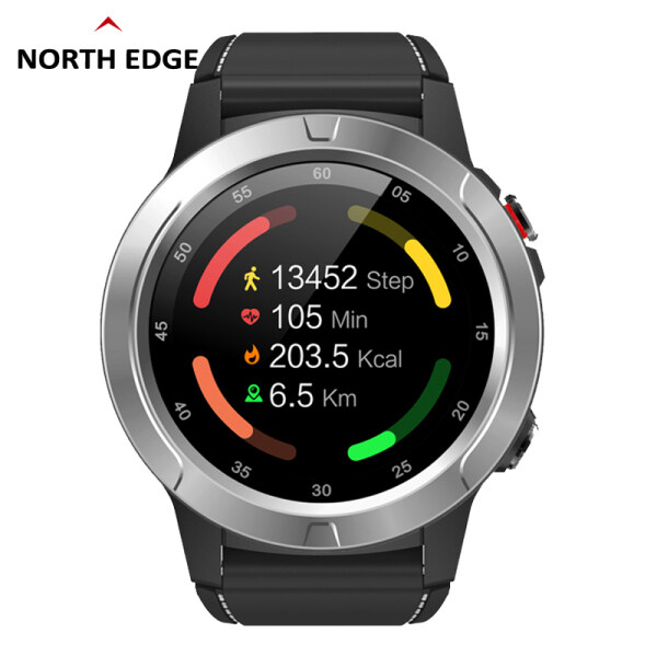 NORTH EDGE XTREK3 Smart Watch GPS Touch Screen Heart rate Blood pressure Altimeter Barometer Compass Pedometer sports mode Calories Weather Bluetooth Phone IP67 Malaysia