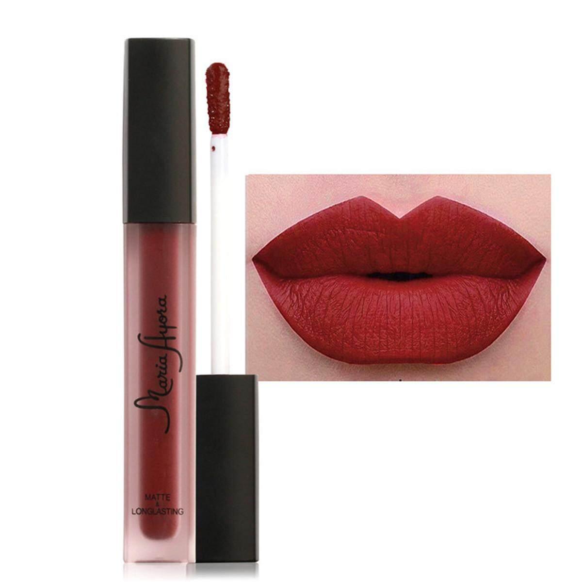 10 Tint Lip Gloss Matte Sexy Liquid Lipstick Waterproof Long Lasting Clear Lipgloss Cosmetic Beauty Lip Tattoo Make Up Tools