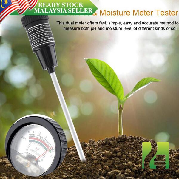 【READY STOCK】LONG SOIL METER pH LEVEL MOISTURE TESTER DEEP DETECTOR (2-30cm) 长款土壤测试仪