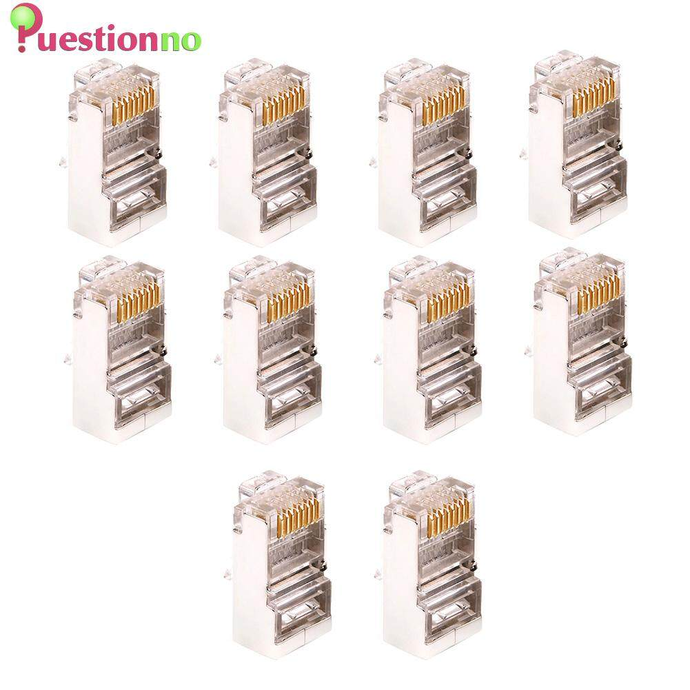 20 x Ethernet Cable Module Plug Network Connector Crystal Head Gold Plated Cable