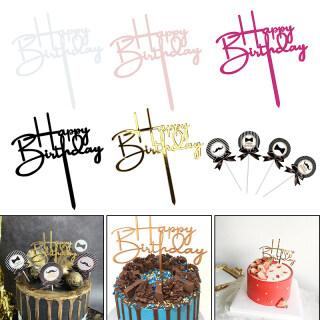 Acrylic Hạnh Phúc Sinh Nhật Bánh Cake Topper, Trang Trí Tiệc Trang Trí Bánh Tiệc Sinh Nhật thumbnail