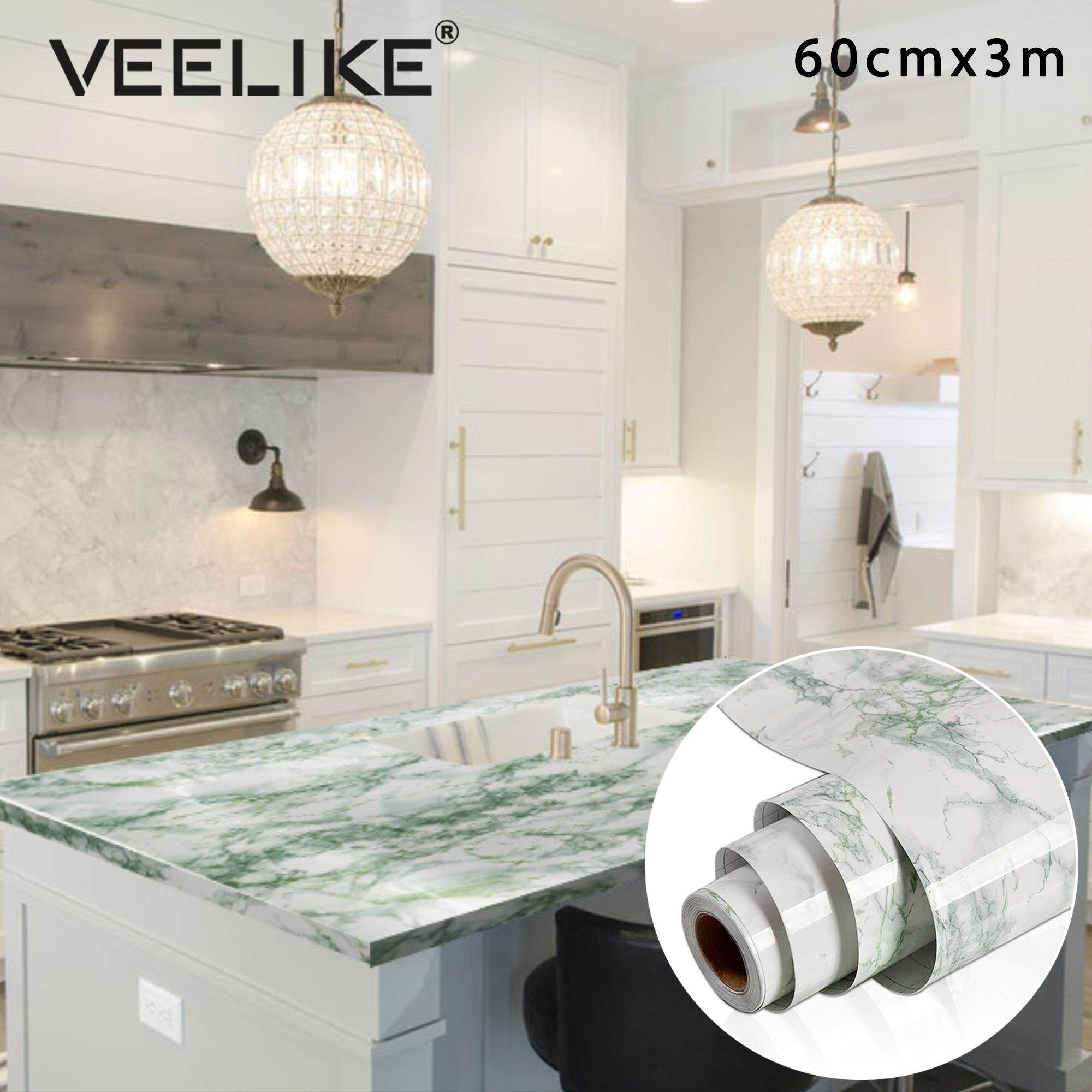 Nyc Subway Map Bedroom Wall Decal.Hot Sale 60cmx300cm Marble Vinyl Film Self Adhesive Wallpaper For Bathroom Kitchen Cupboard Countertops Contact Paper Pvc Waterproof Wall Stickers