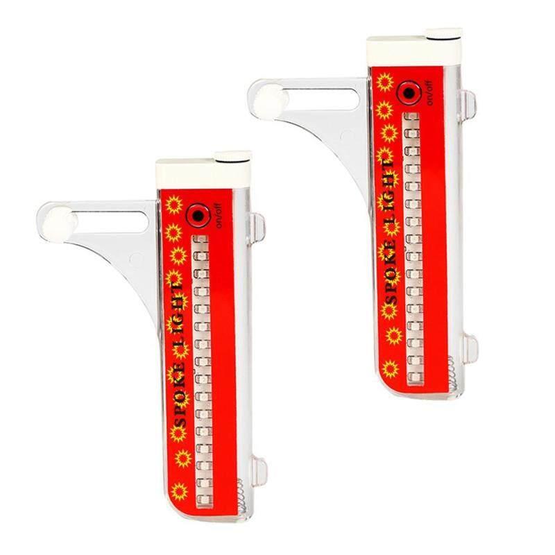 Phân phối GoodGreat Sáng Lumen USB Sạc Đầy Đủ Màu Sắc Xe Đạp Bánh Lốp Nói Đèn Phụ Kiện Chống Nước Siêu Bền