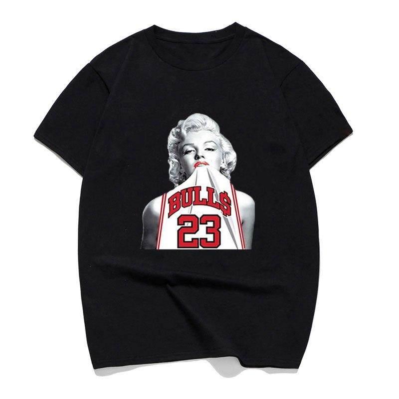 45cb1b232d05 Marilyn Monroe Streetwear Cool Shorts Tshirt Men Summer Casual Tee Shirt  Man s T-shirt Cotton