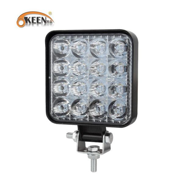 Bảng giá OKEEN Đèn LED Làm Việc Mini 48W LED Thanh Vuông Điểm, Thanh Đèn LED Off Road 24V 12V Cho Xe Tải 4X4 4WD Xe SUV ATV IP67