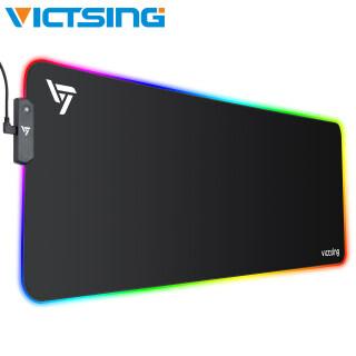 Bàn di chuột chơi game RGB lớn VictSing PC313 Bàn di chuột LED mở rộng với 13 chế độ ánh sáng, 2 mức độ sáng, Đế cao su chống trượt cho máy chơi game Máy tính để bàn PC 800 300mm thumbnail