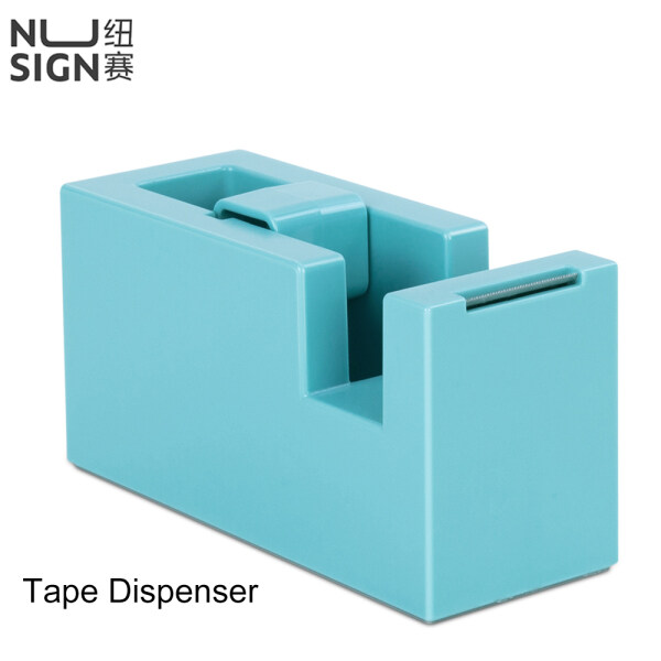 Mua Deli Nusign Tape Dispenser NS121 Non-slip Bottom Solid Base Tape Cutter Desktop ABS Simplicity DIY Combination Tape Storage Cutting Box Stationery Supplies Home Office School Dormitory Adhesive Tape Holder Container For Student Colleague