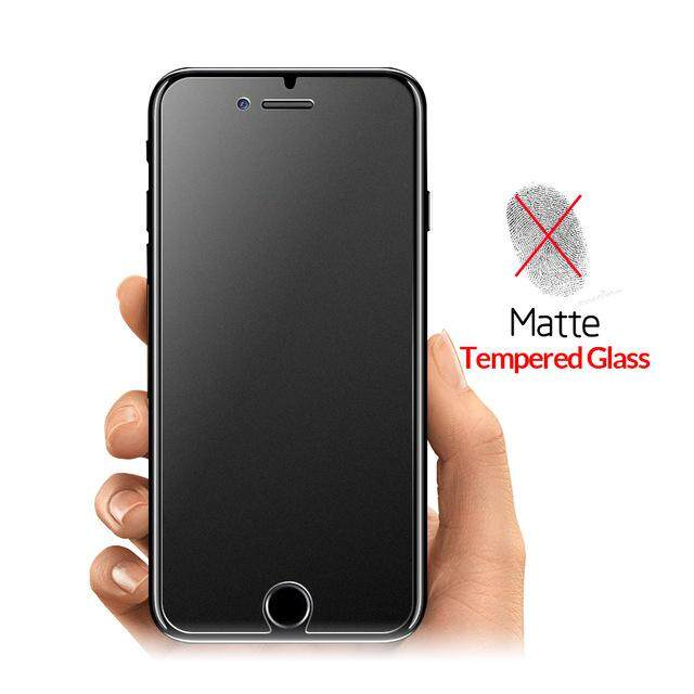 MATTE TEMPERED GLASS FOR IPHONE 6 6S 6PLUS 6SPLUS 7 7PLUS 8 8PLUS X XS XR
