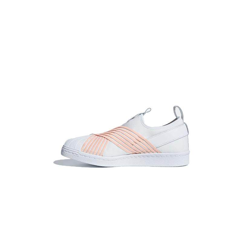 detailed look 94e70 2d707 adidas Originals Superstar Slip-on (White) Women s Shoes - D96704