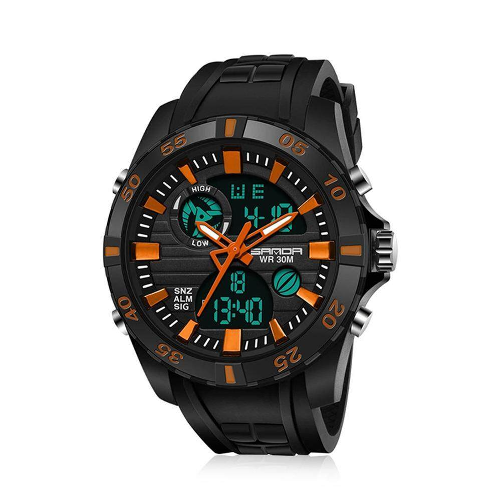 OnLook New Watch Fashion Sports Multi-Function Electronic Watch Couple Popular MenS Luminous Watch Malaysia