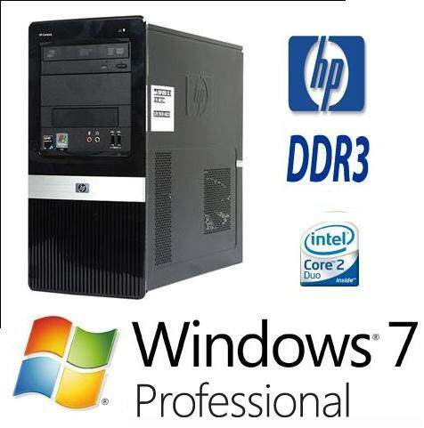 Desktop Hp Pro 3000 Mini Tower Core 2 Duo 2.8ghz/hdd250gb/ram 4gb Ddr3/window 7 By Ajesolution.
