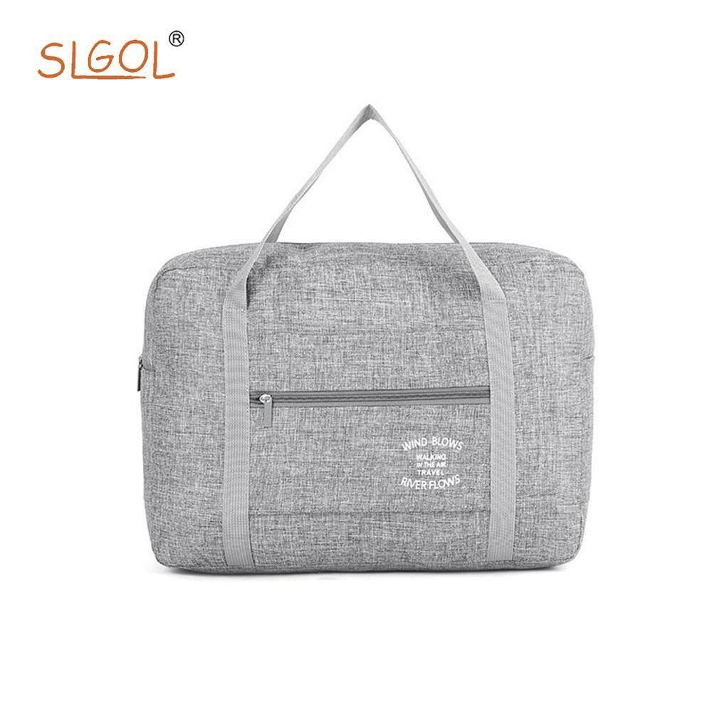 Travel Bag-large Capacity Waterproof Folding Handheld Travel Bag For Men And Women By SLGOL