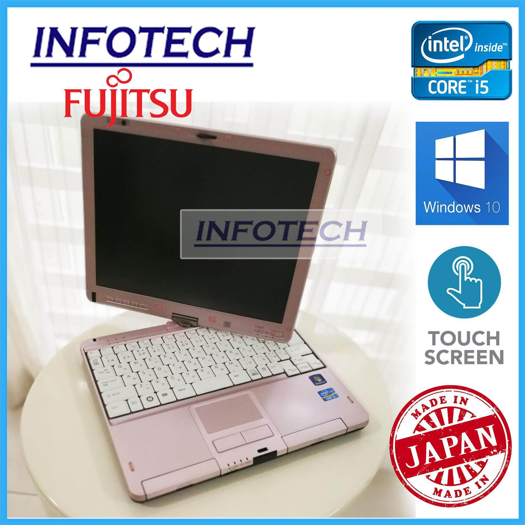 Fujitsu LifeBook T1 - 12.5 - Intel Core i5 2nd gen - 2GB RAM - 30SSD (TOUCH SCREEN) Malaysia