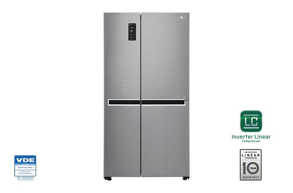 LG 687L SIDE BY SDIE FRIDGE INVERTER FRIDGE GC-B247SLUV