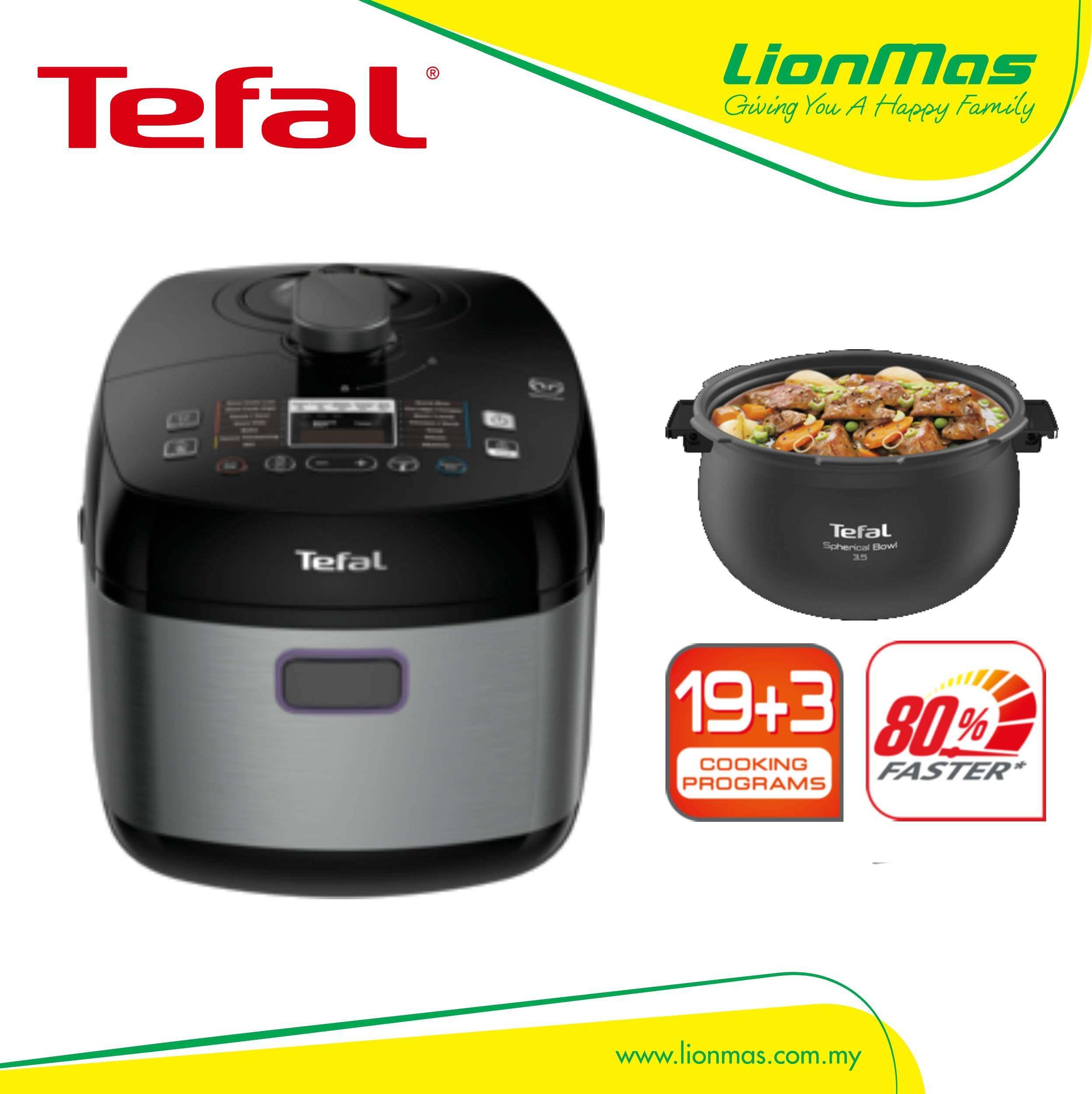 Tefal Home Chef Smart Pro Multicooker Pressure Cooker Cy625d Lazada