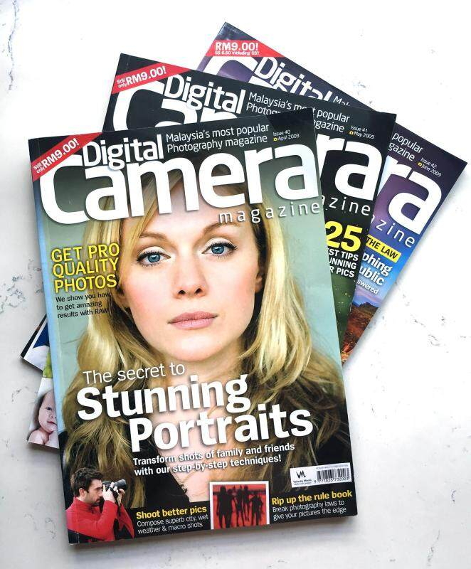 Digital Camera Magazine Issue 40, 41, 42 (Set of 3) Malaysia