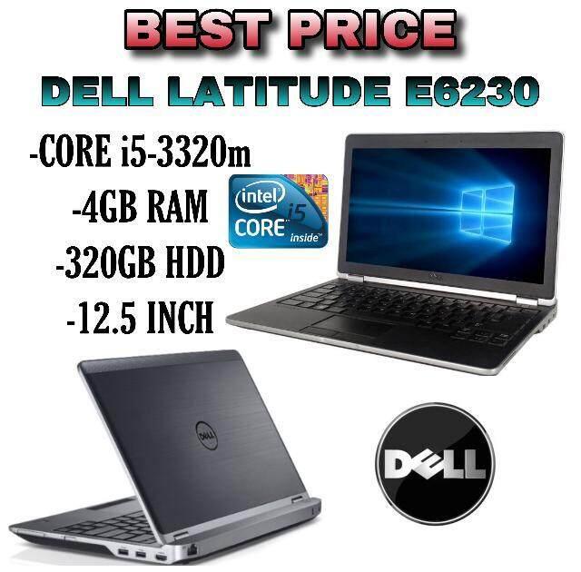 DELL LATITUDE E6230 i5-3320m 4GB RAM 320GB HDD 12.5 inch Malaysia
